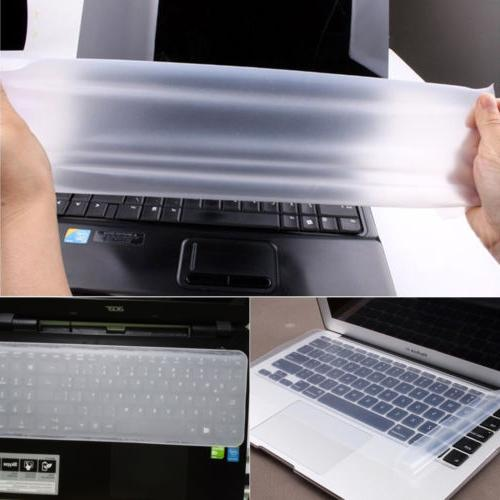 "Clear Laptop Skin for 10"" 17"""