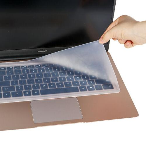 clear protector cover universal laptop silicone keyboard