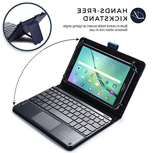Cooper case for 8.9'' inch | 2-in-1 Wireless with Touchpad Folio Mouse, 14