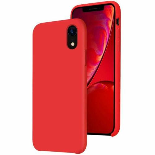 Case Apple 8 Plus 7 Plus XS Max XR Luxury Silicone