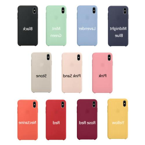 Case iPhone 8 Plus 7 Silicone