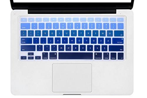"""DHZ Dark Gradient Keyboard Cover for Older Version 13 MacBook 15"""" inch"""