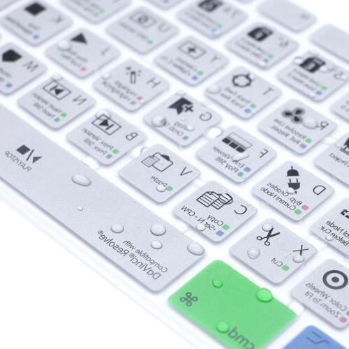 DaVinci Resolve Hotkey Keyboard iMac G6 Numeric Keypad A1243
