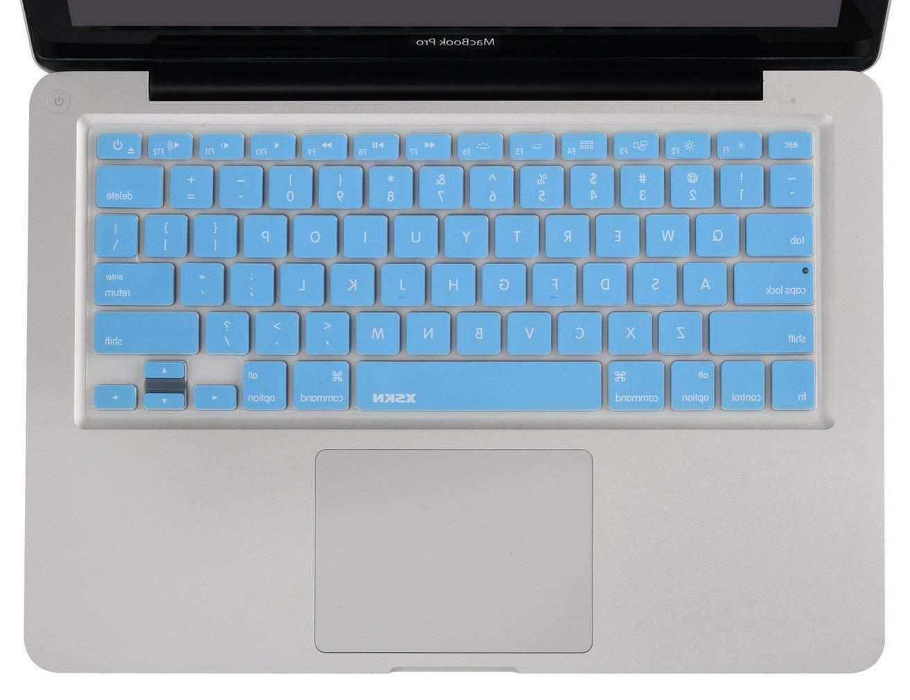 XSKN English Language Cover Silicone Macbook Retina ~BLUE