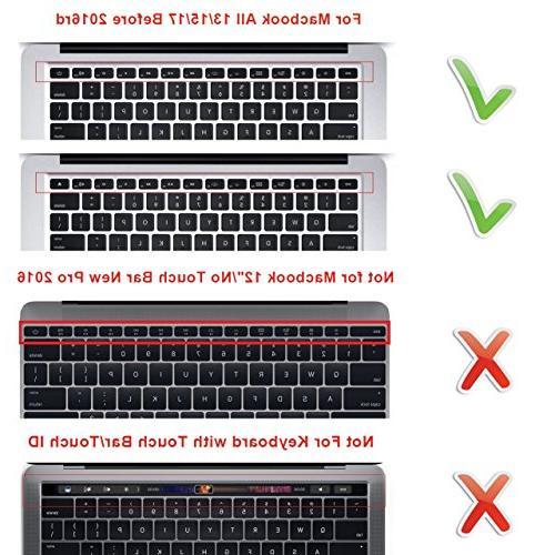 HRH Korean Cover MacBook Air 13,MacBook 13/15/17 Keyboard