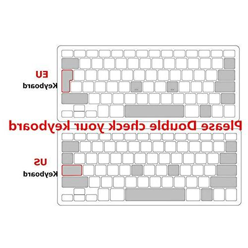 "HRH EU/UK English Silicone Keyboard Shield MacBook Air Pro Retina 15"" Layout"