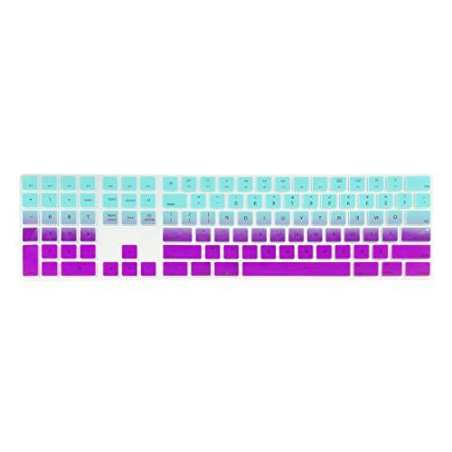 faded ombre ultra thin silicone soft keyboard