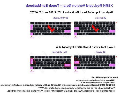 XSKN2016 forTouchBarModelsMacBookPro13&MacBookPro15,USEU Version
