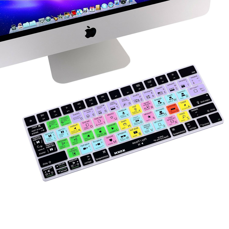 final cut pro x shortcut keyboard cover