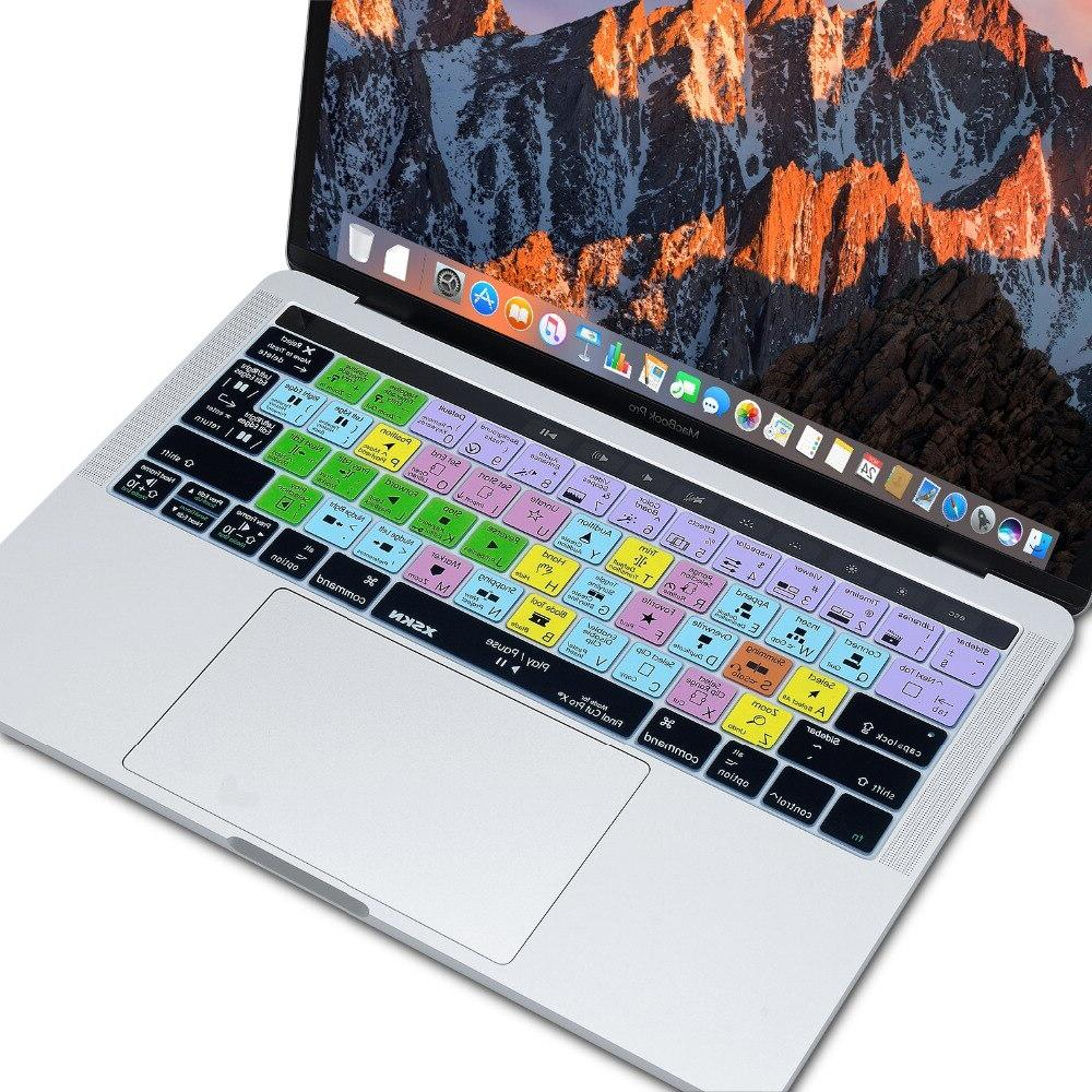 X <font><b>Keyboard</b></font> <font><b>Cover</b></font> Touch 15, A1707 Gift Touchbar Sticker