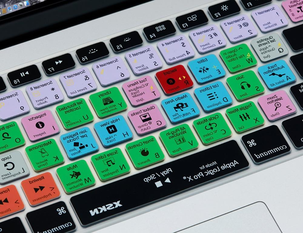<font><b>XSKN</b></font> <font><b>Cover</b></font> Logic Functional Silicone Skin for for Macbook Pro 13, 15 Logic <font><b>Cover</b></font>