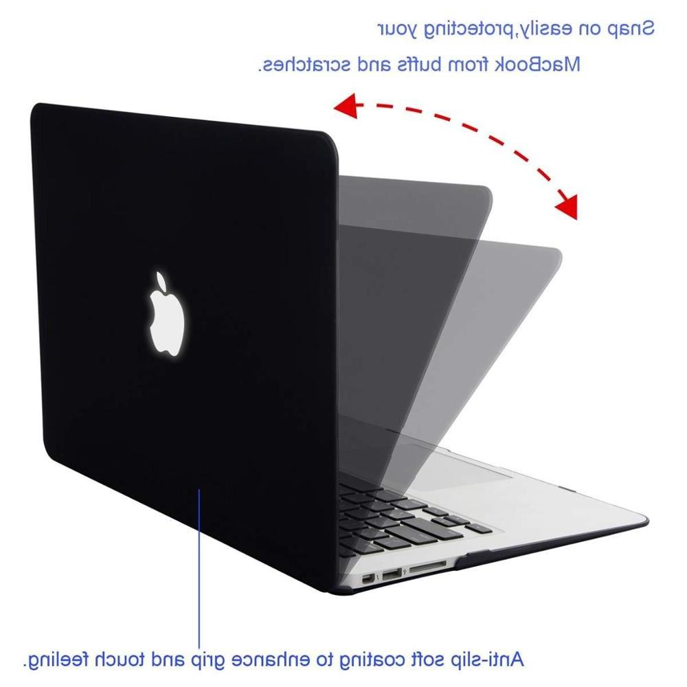<font><b>Mosiso</b></font> Hard Case Macbook 2014 2015 2016 2017 2018 Matte Case 11+ Silicone <font><b>Cover</b></font>