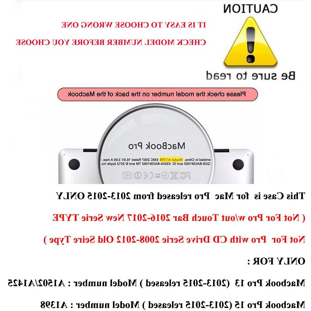 <font><b>Mosiso</b></font> Clear <font><b>Cover</b></font> Case for Pro A1502/A1425 Year 2014 <font><b>Keyboard</b></font>