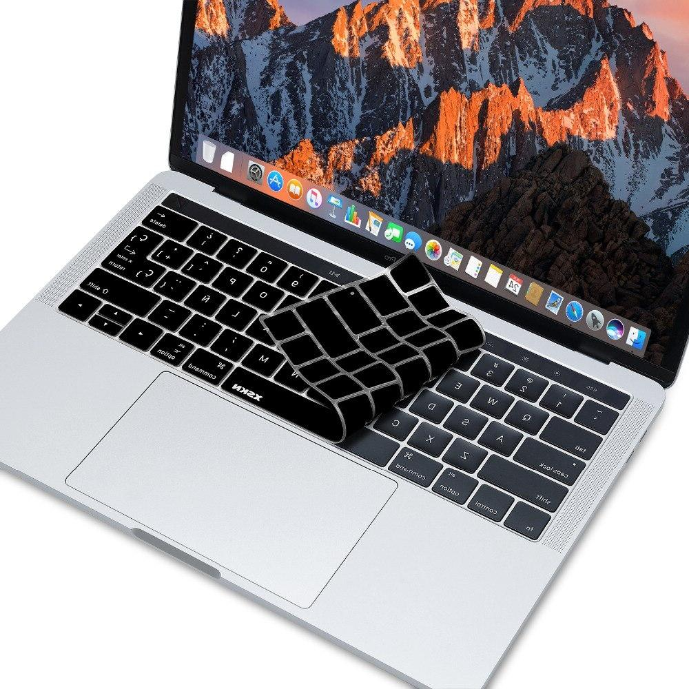 <font><b>XSKN</b></font> <font><b>Cover</b></font> Skin Film for New MacBook 13 A1706 inch A1707 With Bar