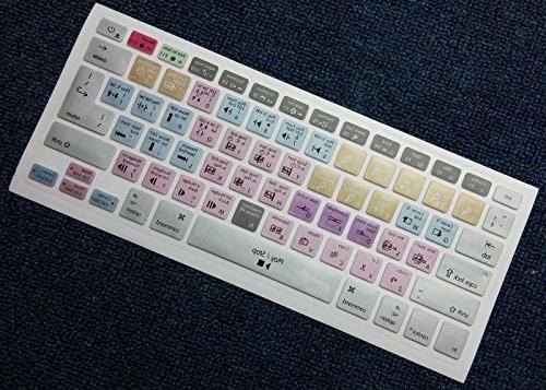 Dogxiong Pro Functional Shortcut Keyboard Skin Brushed Imac Keyboard Number Air 13,Macbook Pro Layout