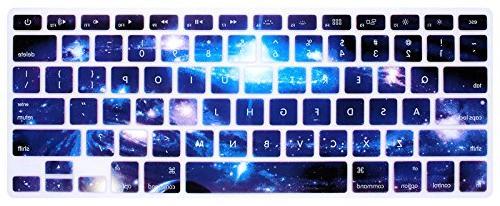 swirl starry sky keyboard cover