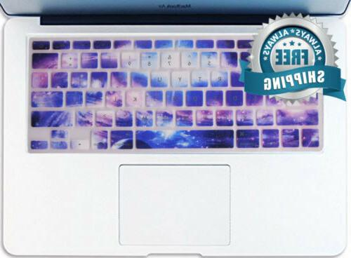 galaxy pattern texture silicone keyboard cover ultra