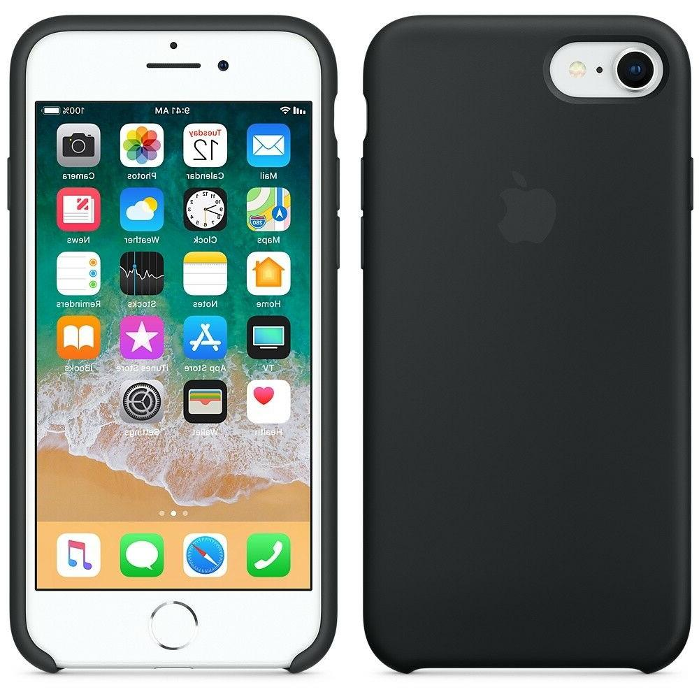 For Apple X 8 6 Soft Silicone Case