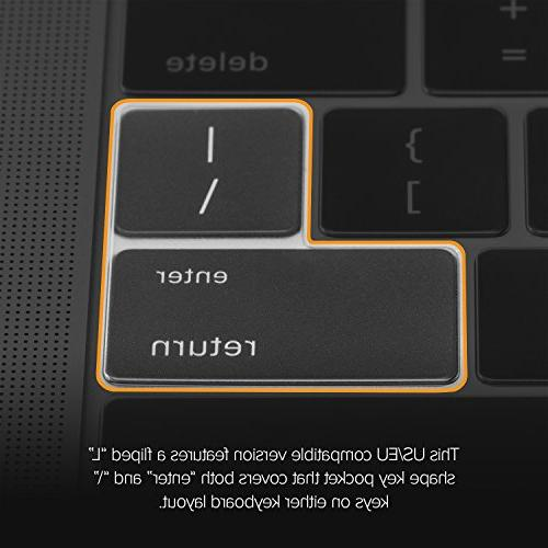 """UPPERCASE GhostCover Premium Ultra Thin Bar or 15"""" Compatible"""