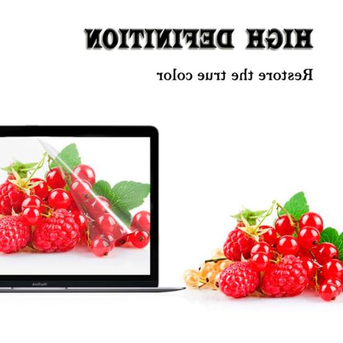 """Clear Hard Shell Cover+LCD Air 11 Pro/Retina 12/13.3/15.4"""""""