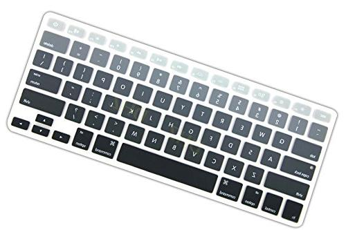 "DHZ Grey Keyboard Skin for MacBook Air and Pro 15"" Layout"