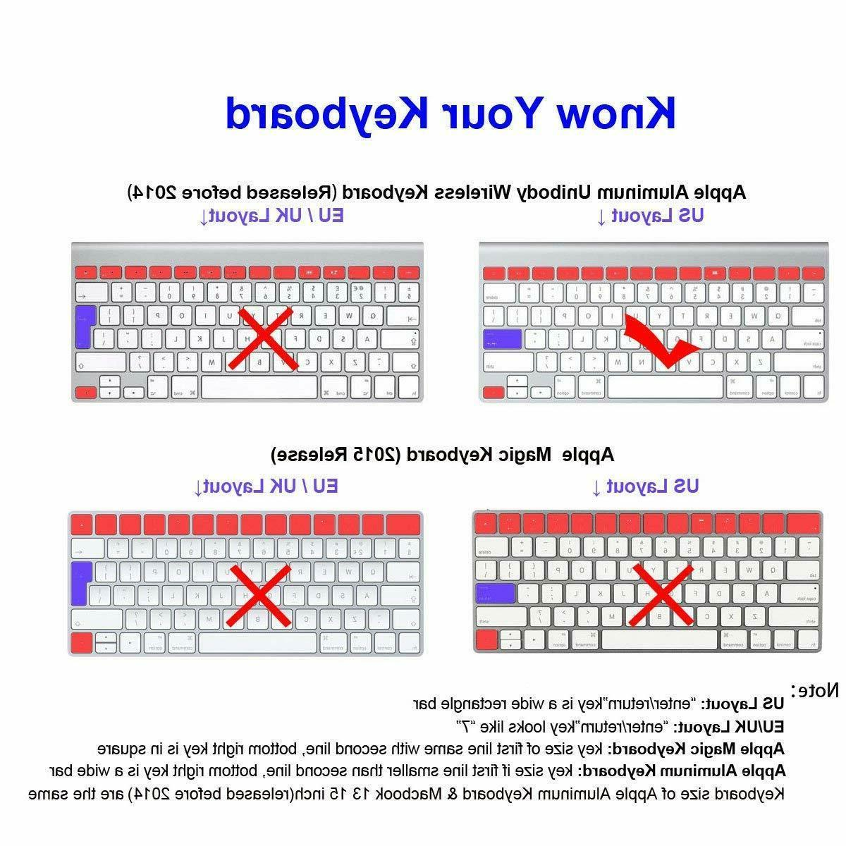 XSKN Mac Shortcut Keyboard Skin Pro 13