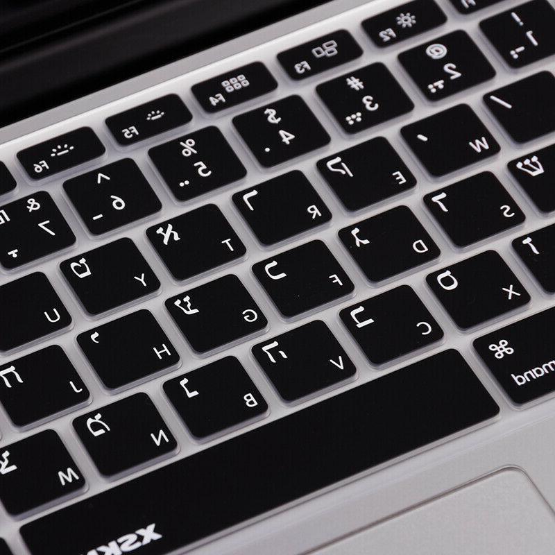 "XSKN Black Keyboard Skin Cover for 15"","