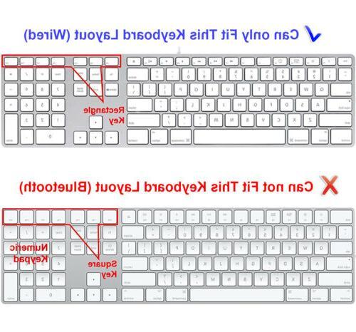 DaVinci Resolve Keyboard Cover for iMac G6 Numeric Keypad