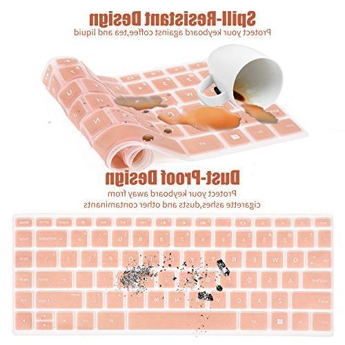 CaseBuy Keyboard Cover HP x360 14M-BA 14-BF Series 14M-BA013DX 14M-BA114DX 14M-CD0001DX 14-BW065NR, Rose