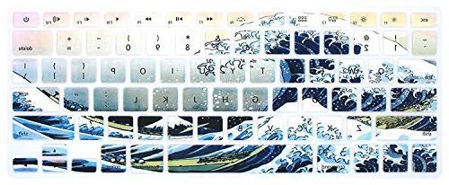 """DHZ Huge Keyboard Cover 2015 Older MacBook 13 Pro 13 15"""""""