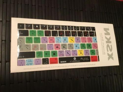 illustrator silicone keyboard skin cover for macbook