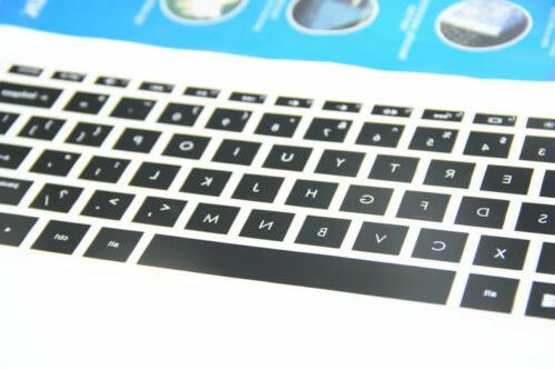 Invisible Keyboard High Protector Fit For HP 15.6 Laptop PC