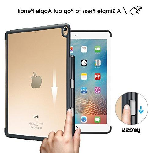 ProCase iPad Case, Companion for iPad 10.5 Inch, Back Cover Apple Pencil Compatible with and Smart