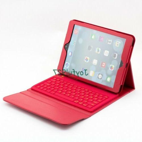 iPad 6 6th Bluetooth Stand Case Cover
