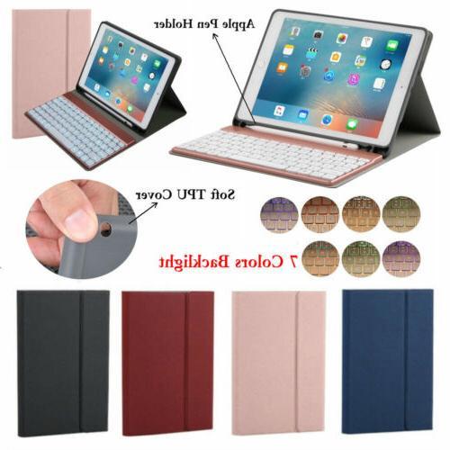 "For iPad Pro 10.5"" 9.7 2018/2017 Backlight Bluetooth Keyboar"