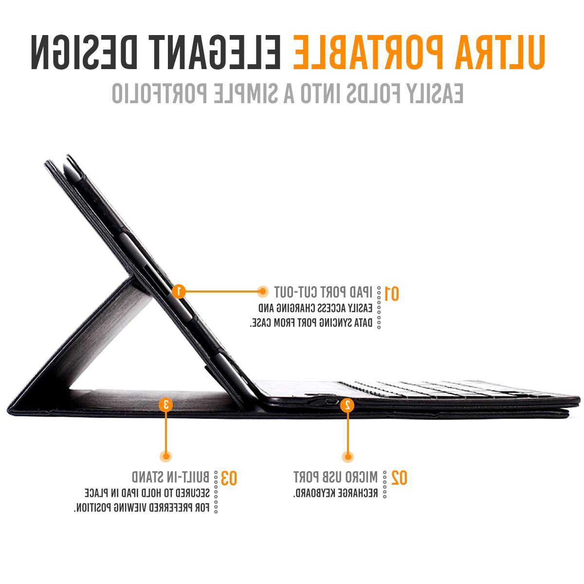 iPad 10.5 Keyboard Case Detachable