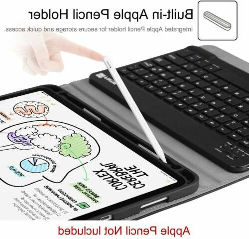 For iPad 2018 Case Cover + Removable Wireless Keyboard