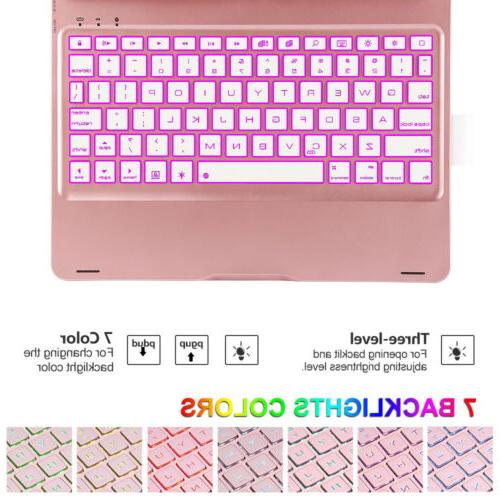 For inch Keyboard 360 7 Colors Bluetooth keyboard Cover