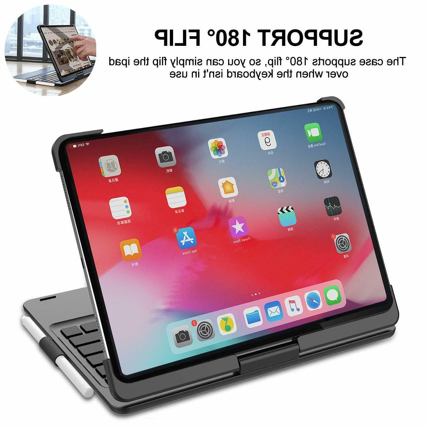 Case with Rotatable Smart Keyboard