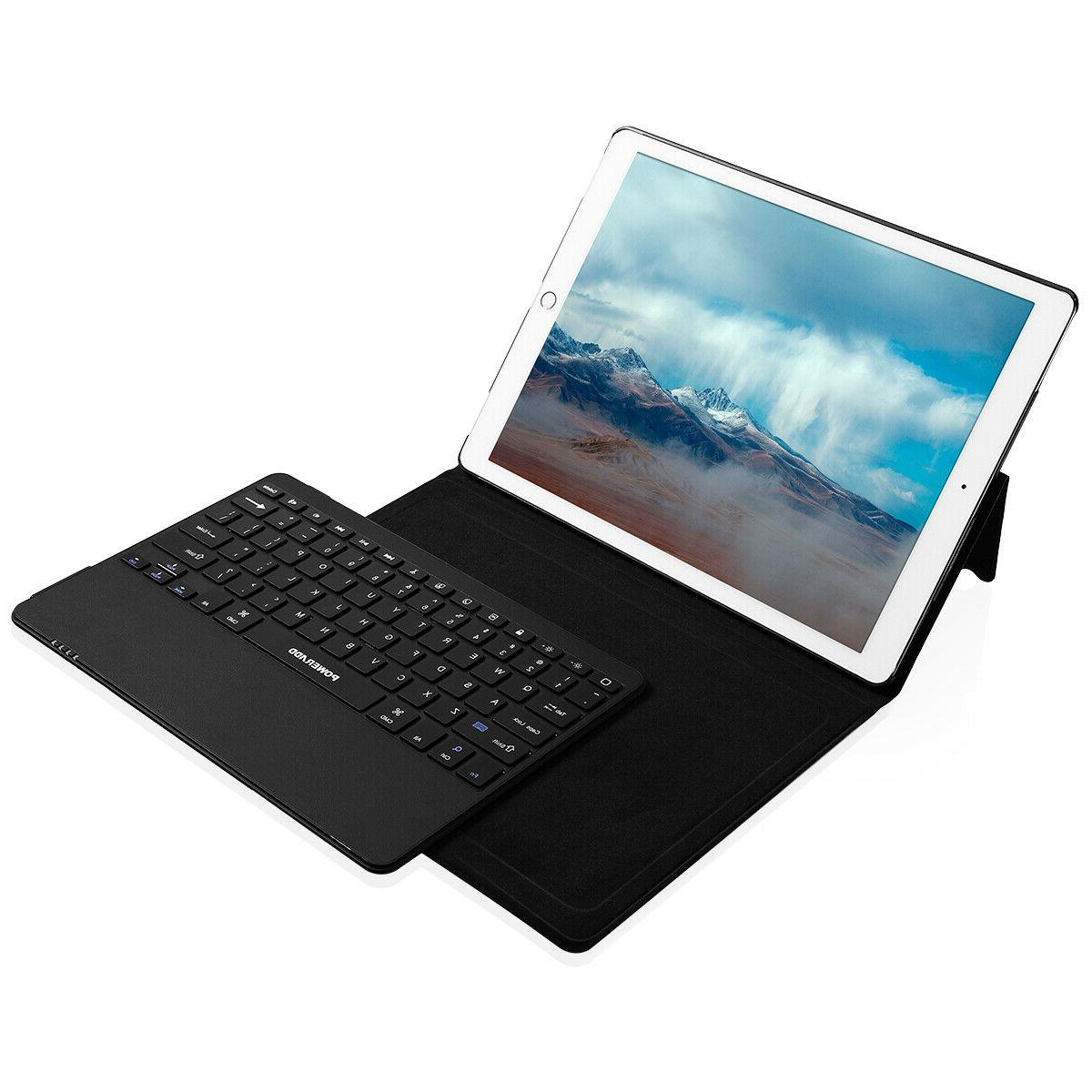 For 2017 Case Stand with Bluetooth keyboard