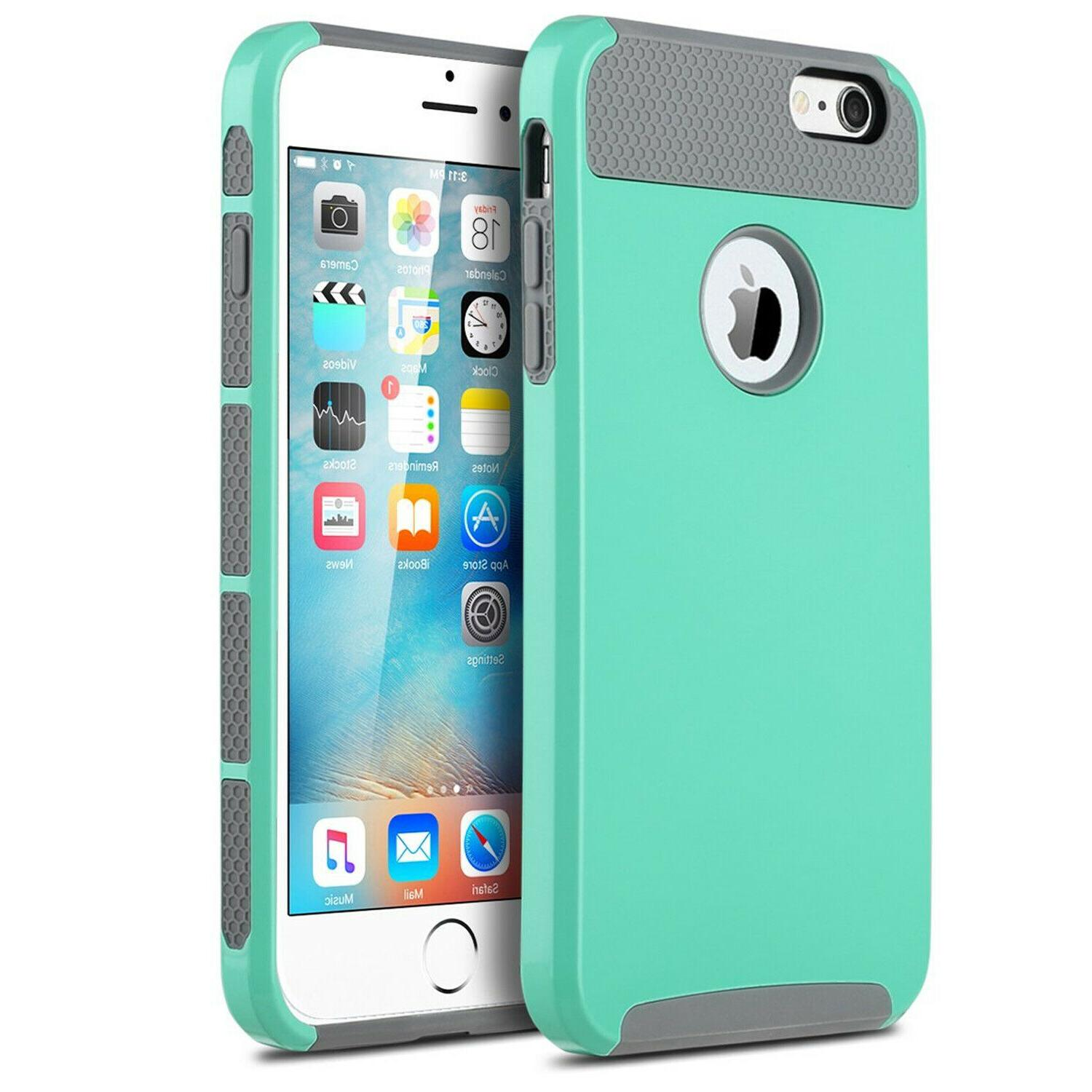 For X 7 6 Plus Case Cover+Tempered Protector