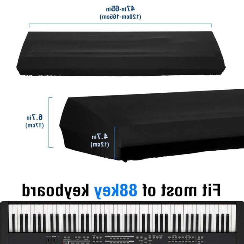JamBer Stretchable Electronic Keyboard Dust 88 Black