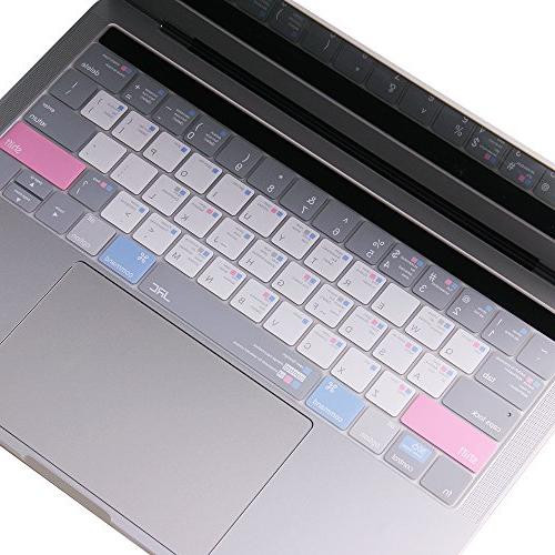"Shortcut OS Cover, Ultra Thin Keyboard Protector for Apple MacBook Pro 13"" 15"", Layout"