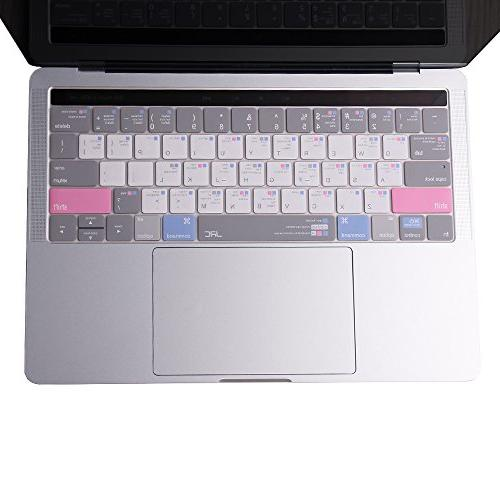 jrc 3th generation shortcut mac keyboard cover ultra thin pr