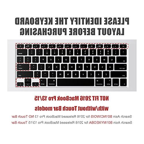 """Keyboard Cover Compatible Pro 13"""" Air Keyboard"""