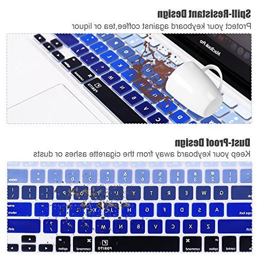 Keyboard Compatible Pro Air 13 Keyboard US Blue