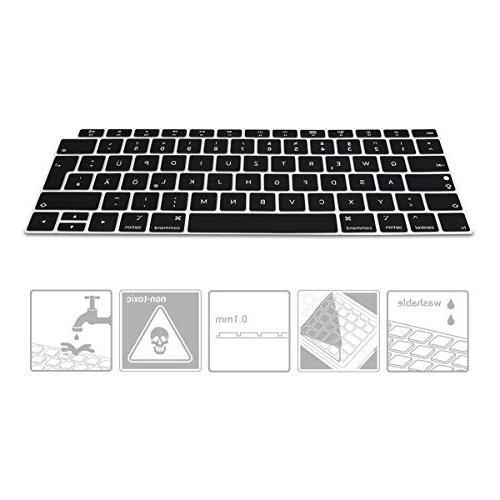 "kwmobile Cover Apple Air 13"" Retina German QWERTZ Layout Skin -"