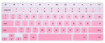 CaseBuy Keyboard Cover Skin Compatible SAMSUNG-CHROMEBOOK3-TR-BLUE