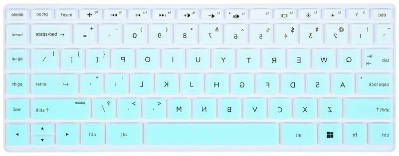 CaseBuy Keyboard Cover Compatible 2019 2018 Laptop/HP Pavilion