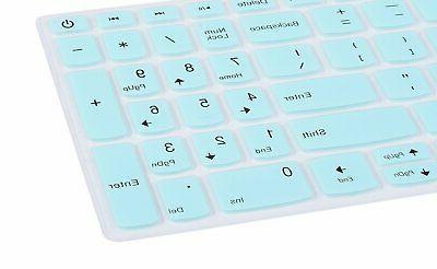 "CaseBuy Keyboard Protector Cover Compatible Lenovo IdeaPad 15.6"""